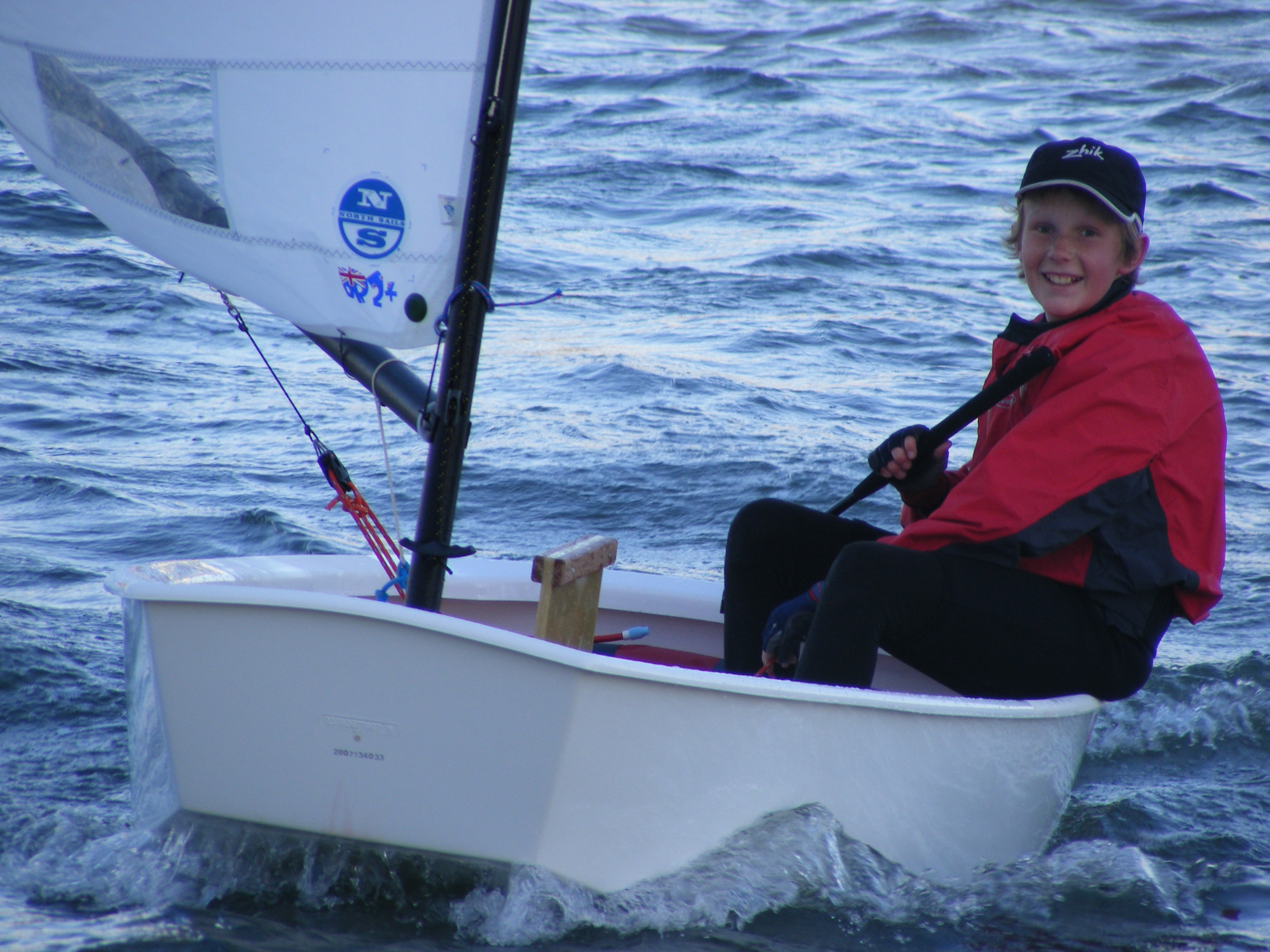 Ben Hartnett Optimist Sailing